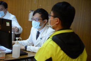 台北慈院協助新北警務人員接種疫苗